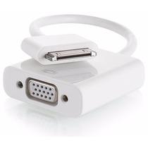 Cabo Adaptador Vga P/ Iphone / Ipad / Ipod 30 Pinos Mymax