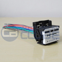 Conector Chicote Som Cruze Cobalt Sonic Spin Agile S10 Onix