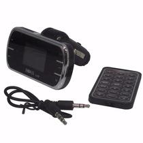 Transmissor Fm Veicular Radio Mp3 Usb Sd - L372pj