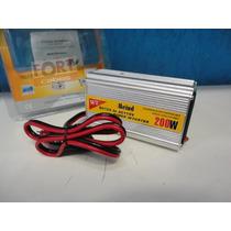 Inversor Transformador Conversor Veicular 200w 12v 110v Usb