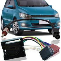 Kit De Adaptador Chicote Plug Para Vw Fox 2015
