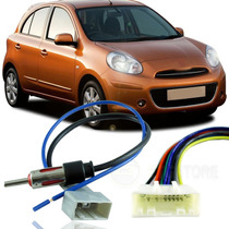 Kit De Chicote Plug Adaptador Para Nissan March