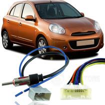 Kit De Chicote Adaptador Plug Para Nissan March