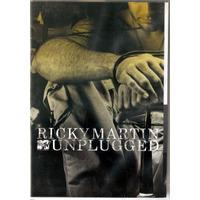 Dvd Ricky Martin - Unplugged Mtv - Novo***