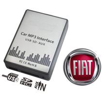 Interface Usb Fiat Punto Linea Marea Stilo 500 Som Original