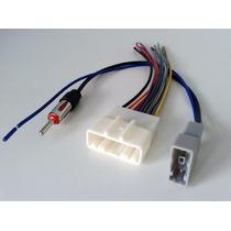 Chicote De Som + Plug Adaptador De Antena Original Nissan