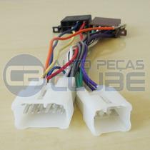 Conector Chicote Som Toyota Hilux Corolla Sw4 Etios Com Iso