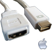 Cabo Mini Dvi Para Hdmi Full Hd 1080p Apple Mac Macbook Pro