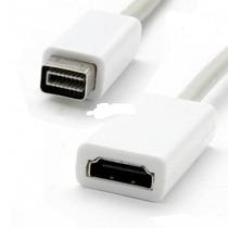 Cabo Mini Dvi X Hdmi Para Ibook Macbook Adaptador Conversor