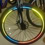 Adesivos Refletivos Roda De Bicicleta Aro Bike. Frete Grátis