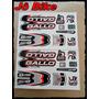 Adesivos Gallo Prog Tam Medio Para Bicicleta Jô Bike