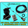 Kit Completo Antena Dual Band Vhf 1/4 X Uhf 5/8 Steelbras