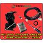 Kit Dual Band Vhf 3/8 X Uhf 2x5/8 Steelbras 12x Sem Juros !