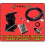 Kit Dual Band Vhf 1/4 X Uhf 5/8 Steelbras - 12x Sem Juros !