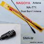 Antena Flexivel Ht Nagoya Na-771 Sma-m Dual Band Yaesu