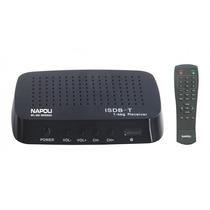 Receptor Tv Digital P/ Carro Isdb-t One Seg Npl-600