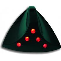 Antena Tubarão Sequencial - Preta - (led Vermelho) Universal