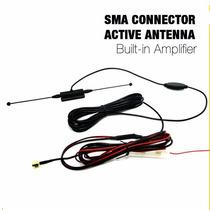 Antena Amplificada Automotiva Tv Digital Com Booster