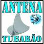 Antena Cromada Shark Tubarao Cromada Decorativa Universal ®