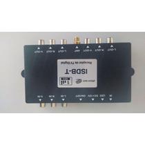 Receptor De Tv Digital Veicular 2 Saídas Rca