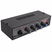 Mixer Stetsom Ma1200 Propaganda C/ Entrada Microfone Aux P2