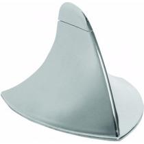 Antena Shark Tubarão Decorativo Universal Cromada