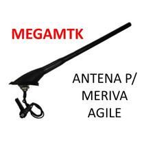 Antena Teto P/ Meriva Agile C/ Conector Original Raku