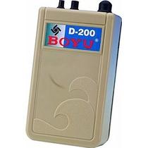 Compressor De Ar Pilhas Boyu D-200 Transporte Peixes Iscas