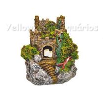 Enfeite Para Aquário Castelo Medieval Ii - Aquária - E09