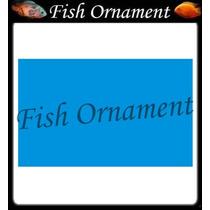 Painel Fundo De Aquario Boyu J15 50cm Fish Ornament