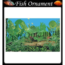 Painel Fundo De Aquario Boyu J11 30cm Fish Ornament