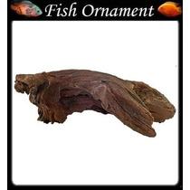 Soma 020110 Enfeite Resina Tronco Duo 108 Fish Ornament