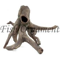 Enfeite De Resina Soma Tronco Raiz 09 Fish Ornament