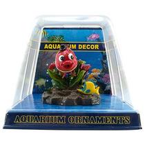Enfeite Resina Nemo Com Bolhas Para Aquário Peixes