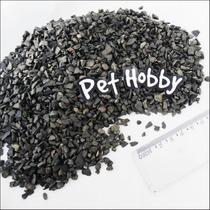 Cascalho Basalto N°2 (caixa C/ 1kg.) - Pet Hobby