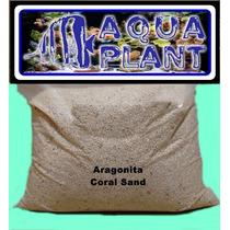 Cascalho De Aragonita Coral Sand 1 Kg