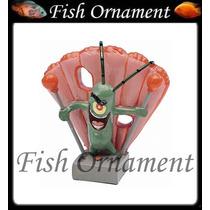 Enfeite Penn Plax Plankiton Mini Bob Esponja Fish Ornament