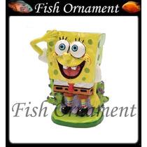 Enfeite Penn Plax Bob Esponja Mini Fish Ornament