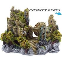 Enfeite De Resina Para Aquário Castelo Medieval E 11
