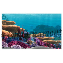 Painel Fundo De Aquario Fundo Mar 50cm Fish Ornament