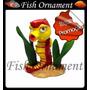 Enfeite De Resina Soma Action Cavalo Marinho Fish Ornament