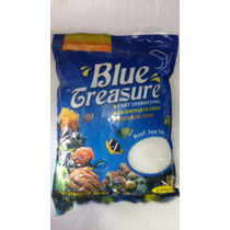 Sal Marinho Para Aquário Blue Treasure 3,35kg ( Faz 100 L )