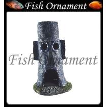 Enfeite Bob Esponja Casa Lula Molusco Mm021 Fish Ornament