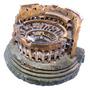 Enfeite Para Aquário Com Fibra Ótica- Coliseu Ch-10013