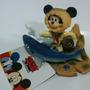 Enfeite Para Aquário Mickey, Escafandro E Tubarão