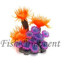 Enfeite De Silicone Soma Coral Mix 08 Fish Ornament