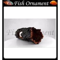 Enfeite Resina Soma Tronco Tunel 01 020108 Fish Ornament