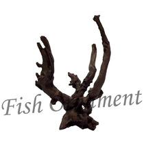 Enfeite De Resina Soma Tronco Duo 309 Fish Ornament