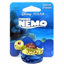 Enfeite De Resina Para Aquário Tartaruga Pequena Nmr45