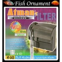Filtro Externo Atman Hf 0400 Hf 400 - 220v - Fish Ornament